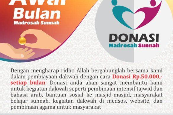 donasi awal bulan