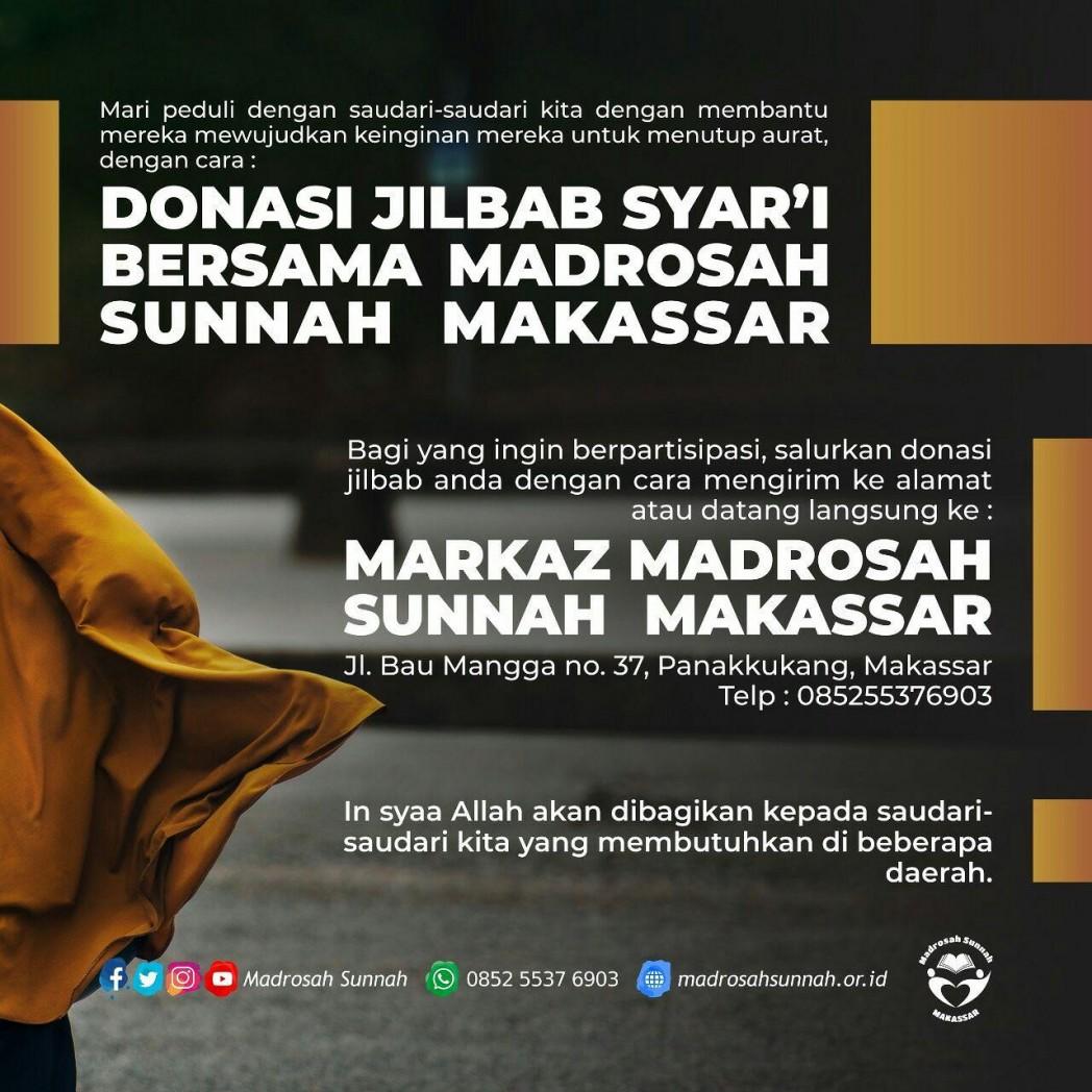 donasi jilbab syar'i madrosah sunnah