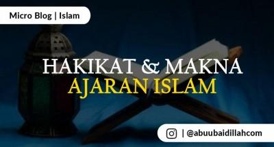 hakikat dan makna islam